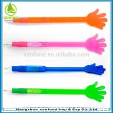 Pluma de gestos forma de plástico venta caliente de la mano para publicidad