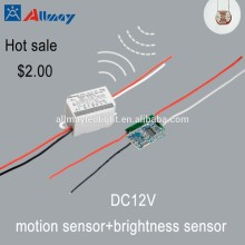 DC12V Automatic Detect Movement Sensor with Light Control
