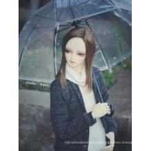 Paraguas de vinilo transparente BJD para muñeca articulada SD / 70cm