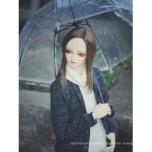 BJD Clear Vinyl Umbrella For SD/70cm Jointed Doll