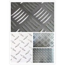 1050 1060 1100 3003 5052 5083 Aluminum Checker Sheet for Deck /Bus Floor/ Travel Trailer