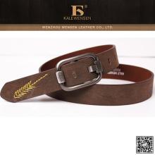 Wenzhou diseño único cinturón de moda para hombre