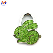 Metal table portable rabbit bag hanger