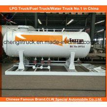 5tons LPG Filling Skid Station para cozinhar cilindro de gás 10cbm para o mercado da Nigéria