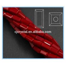 Contas de retângulo de cristal em peças de cristal de cristal grossistas
