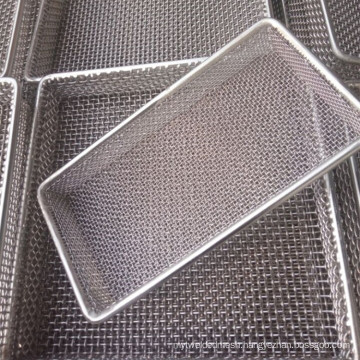 High Quality 600 601 Inconel Wire Mesh Screen Frame Used For Hospital Sterilize
