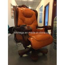 Klassischer Stil Luxuriöser Bürostuhl aus Leder (FOH-A01)