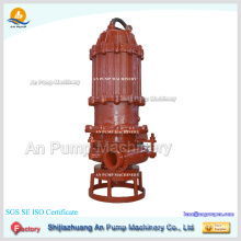 Long working life 380V portable high volume low pressure submersible sand dredging pump