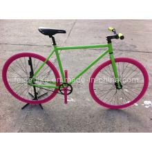 Bicicletas coloridas de la bici fija popular del engranaje (FP-FGB002)