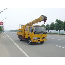 2018 new Dongfeng 4x2 aerial ladder platform truck