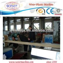 wpc wood plastic floor making machinery