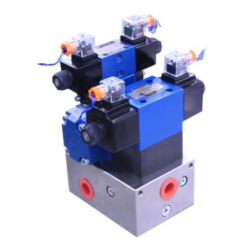 bloques de colector de máquina de filtro prensa