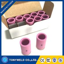 Tapón cerámico boquilla de cerámica de alúmina 13N12 para boquilla tocha de soldadura tig