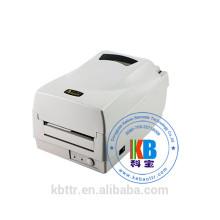 Impressão de transferência térmica direta argox os 214 além de impressora de fita térmica de código de barras
