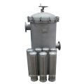 Edelstahl-Beutel-Filtergehäuse 0.5um Flüssigkeitsfiltration Wasserreinigung