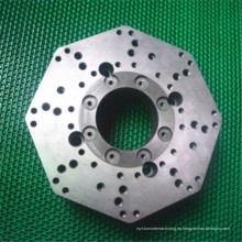 Piezas de torneado del metal de la precisión del torno del CNC hechas del recambio de acero inoxidable Vst-0846