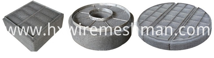 wire mesh demister pad