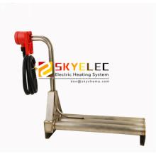 Calentador de agua eléctrico de titanio de tipo horizontal triple