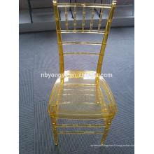 Chaise moderne en résine résine tiffany