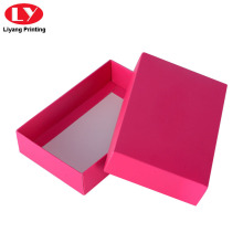 Foldable Cheap Lid and Base Scarf  Packaging Box