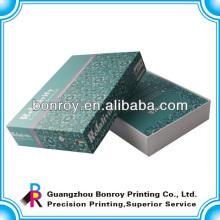 Изготовленный на заказ коробки подарка ювелирных изделий картона упаковывая