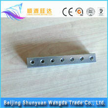 cnc machined aluminum spare parts for fitness equipment