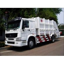 Sinotruk HOWO Rear Garbage Truck 18cbm