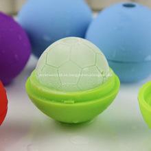 Copa del mundo de fútbol en forma de bola de hielo molde de la bola