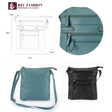 HEC High Quality Factory Direct Soft Fashionable Ladies Shoulder Bag In Stock