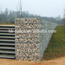 Fabrication pas cher prix gabion treillis métallique