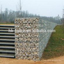 Cheap preço fabricação gabião de malha de arame