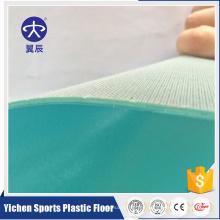 Cubierta de piso comercial de interior de PVC para la construcción de negocios