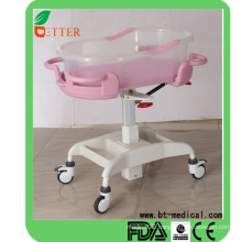 expensive hospital baby cribs with wheels meet safety stanrdards