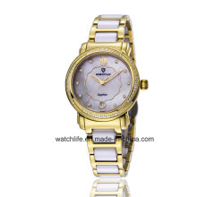 Fashion Diamond Quartz Stainless steel Ladies Wrist Watch