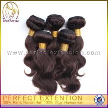 Chinês loja online emaranhado livre 5a onda do corpo malásia top grade 100% cabelo virgem