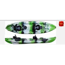 Family Kayak Two Seats Kayak Four Fishing Rod Holders one Motor