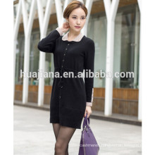 2014 fashion cashmere knitting dress for women