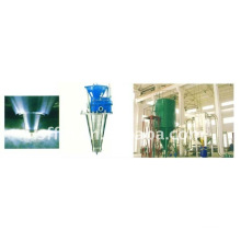 Vegetable protein spray dryer