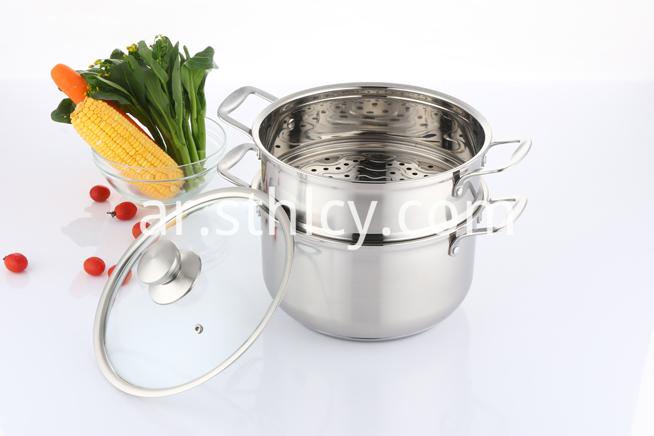 Steamer Pot Stainless Steel