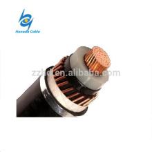 Câble d'alimentation YJV XLPE avec zone sectionnelle de 50 à 500 mm et écran de bande en cuivre