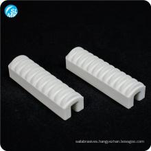 China high pressure ceramic insulator steatite ceramic resistor porcelain parts