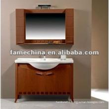 FSC solid wood bathroom furniture