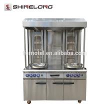 Profesional Eléctrico / Gas Kebab Shawarma Grill Machine