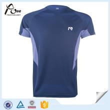 T-shirts de poliéster reciclado Fabricantes de vestuário para homens em China