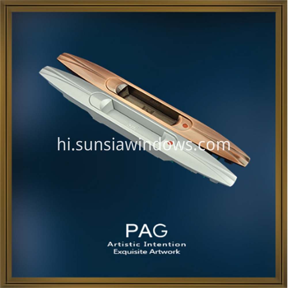 High Quality Special Design Zinc Alloy Touch Lock for Sliding System