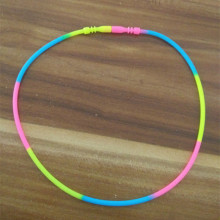 2016 New Arrival Silicone Rubber Necklace for Christmas Gifts