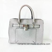 Vente en gros de mode Lady PU sacs à main avec serrure (NMDK-052502)