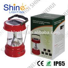 Sun rei pro lanterna solar digital para camping lanterna solar portátil