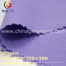 Tecido liso da chiffon do poliéster para a camisa da blusa (GLLML317)