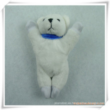 Imán relleno del refrigerador del oso del juguete de la felpa para la promoción